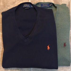 Ralph Lauren Pima Cotton Long Sl Sweater Bundle